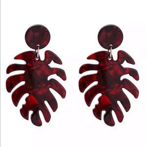 2/$18 Big Acrylic Dangle Earrings